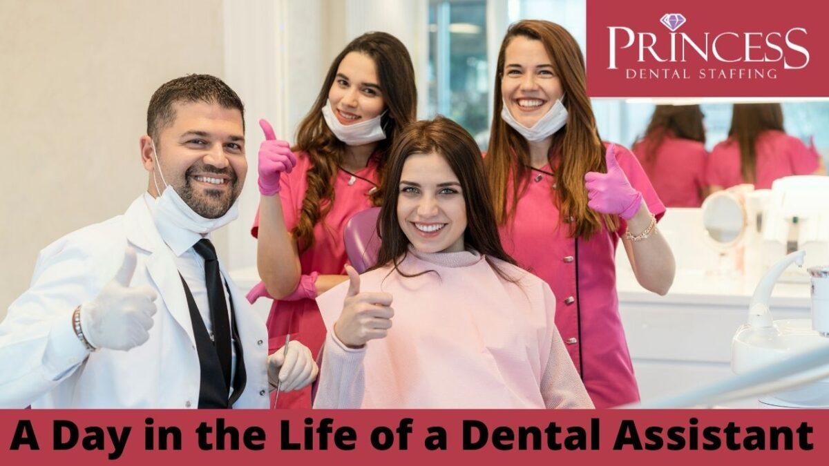 Une journée dans la vie d'une assistante dentaire